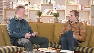 Roar Smelhus på Ombruket Hamar i sofasamtale med Håkon Reisvang fra i4Techonology