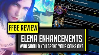 Elena Ability Awakenings & What To Spend Anniversary Coin On! - [FFBE] Final Fantasy Brave Exvius