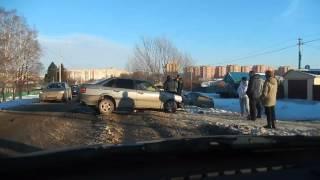 авто авария в Берсеневке