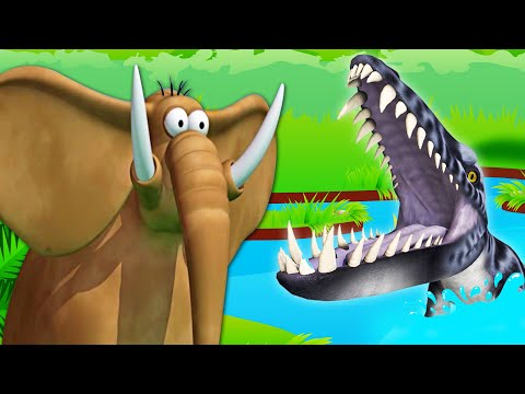 Up Close and Dangerous | Funny Animal Cartoon For Kids | Gazoon - The Official Channel