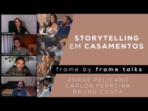Storytelling em Casamentos | Jorge Pelicano, Bruno Costa, Carlos Ferreira