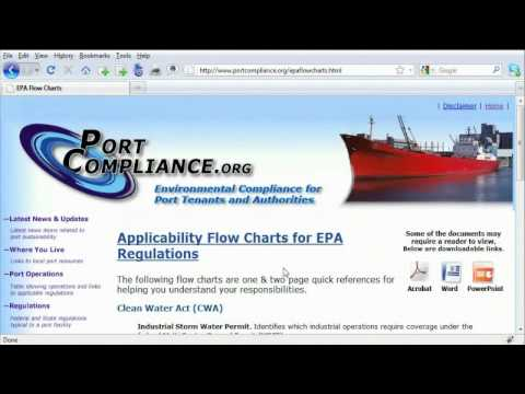Environmental Protection Agency: Port Compliance
