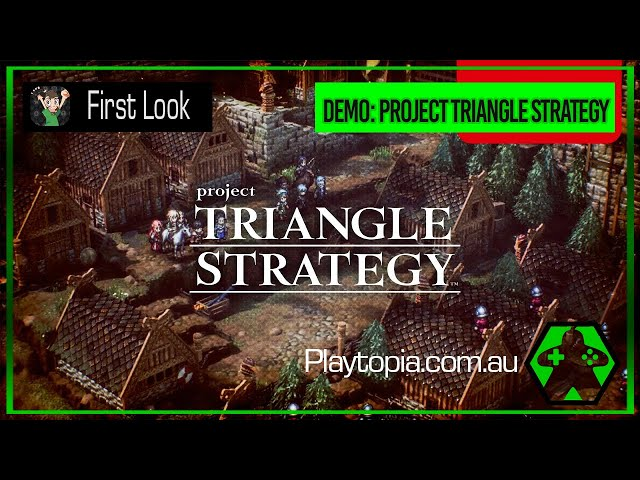 First Look - Project Triangle Strategy (Nintendo Switch)