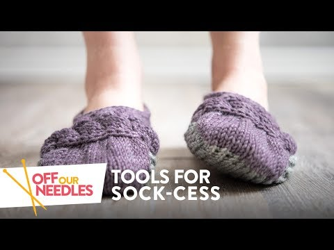 Tools For Sock-cess (Summer Socks & Slippers)   Off Our Needles Knitting Podcast S2E2