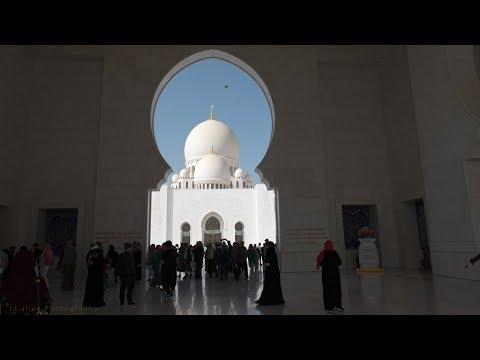 Dubai Day 3 – Abu Dhabi – Sheikh Zayed Grand Mosque – Ferrari World – Outlet Village (4K)