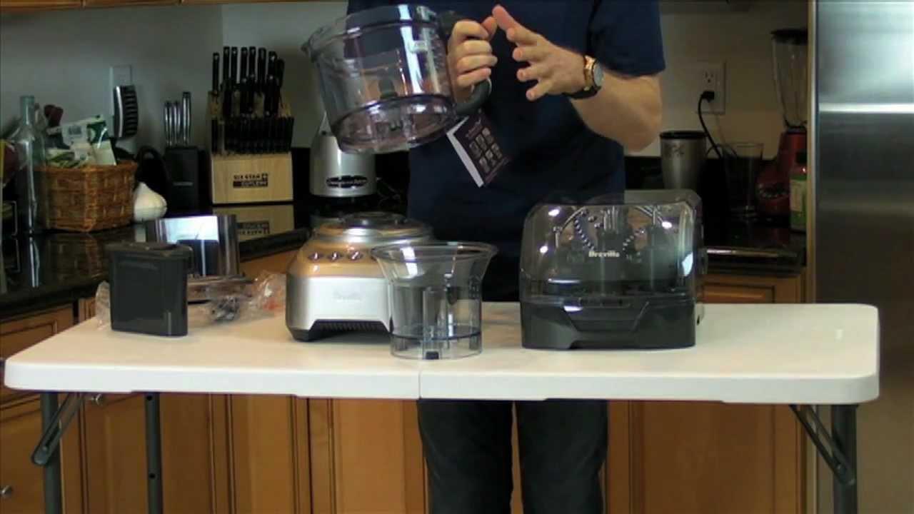 video breville sous chef food processor box opening healthy ride - Breville Food Processor