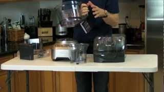 video breville sous chef food processor box opening healthy ride