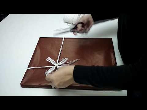 Как упаковать картину для подарка