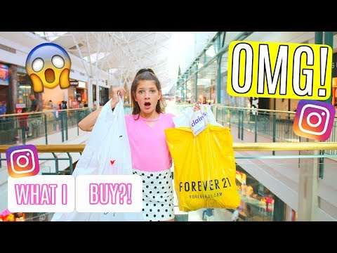 Instagram Followers Control My Shopping For the Day