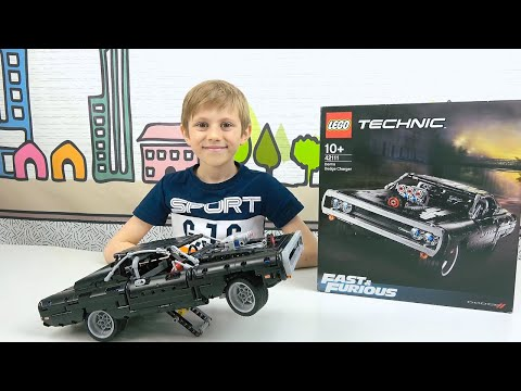Машинка DODGE CHARGER из фильма ФОРСАЖ / Fast & Furios. LEGO Technic 42111