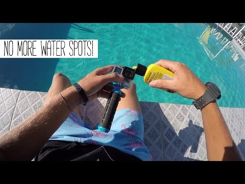GoPro: How To Get Rid Of 99.9% Of Waterspots.
