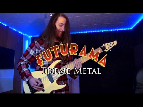 "Futurama ""Theme"" METAL ! Cover By DreamY"