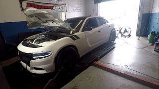 Supercharged V6 Dodge Charger Gets On The Dyno !!!