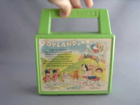 FISHER PRICE Tote-A-Tune Music Box Radio