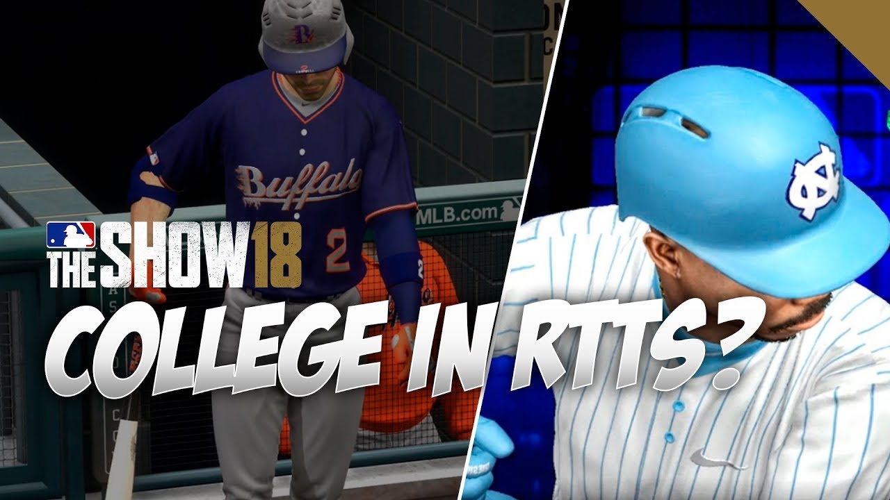 High School and College in MLB The Show 20 Road to the Show