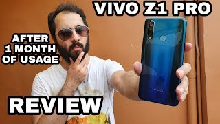 Vivo Z1 Pro Review After 1 Month Of Usage With Pros & Cons |Camera,Gaming|