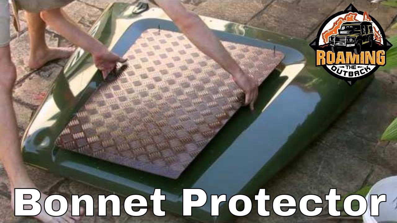 Defender Bonnet Protector Installation Youtube