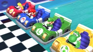 Mario Party: Island Tour - All Racing Minigames