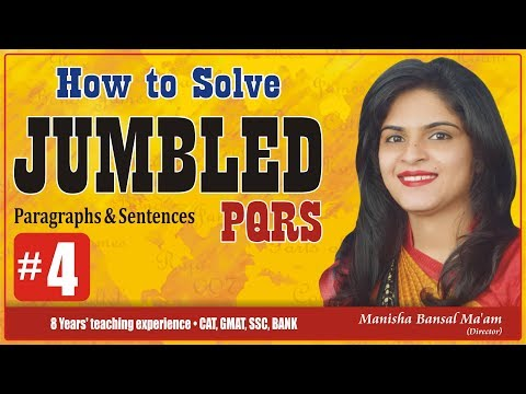 Best Trick To Solve Jumbled Sentences within 2 secs for SSC, CPO, CDS, BANK exams Part #4