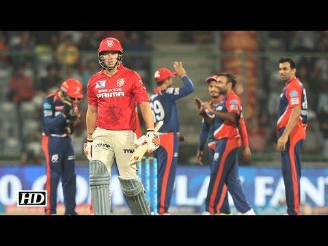 IPL 9 DD vs KXIP: Amit Mishra's 4/11 helps Delhi beat Punjab | Full Report