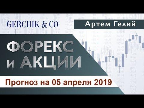 ≡ Технический анализ валют и акций от Артёма Гелий 05 апреля 2019.