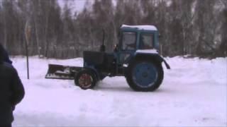 УК СтройНефтеГаз Экзамен трактористов 19.12.2014г.