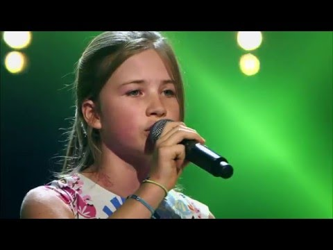 Valentine – ' 'Non, Je Ne Regrette Rien' | Blind Audition | The Voice Kids | VTM