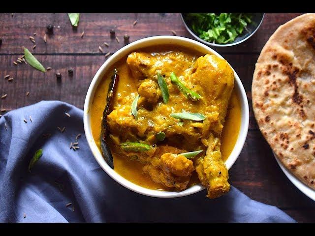 Coconut Chicken Curry | Chicken Recipes | Slurrp