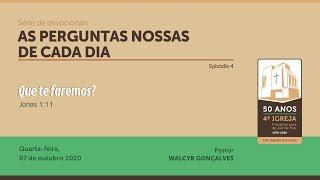 AS PERGUNTAS NOSSAS DE CADA DIA | Série de devocionais