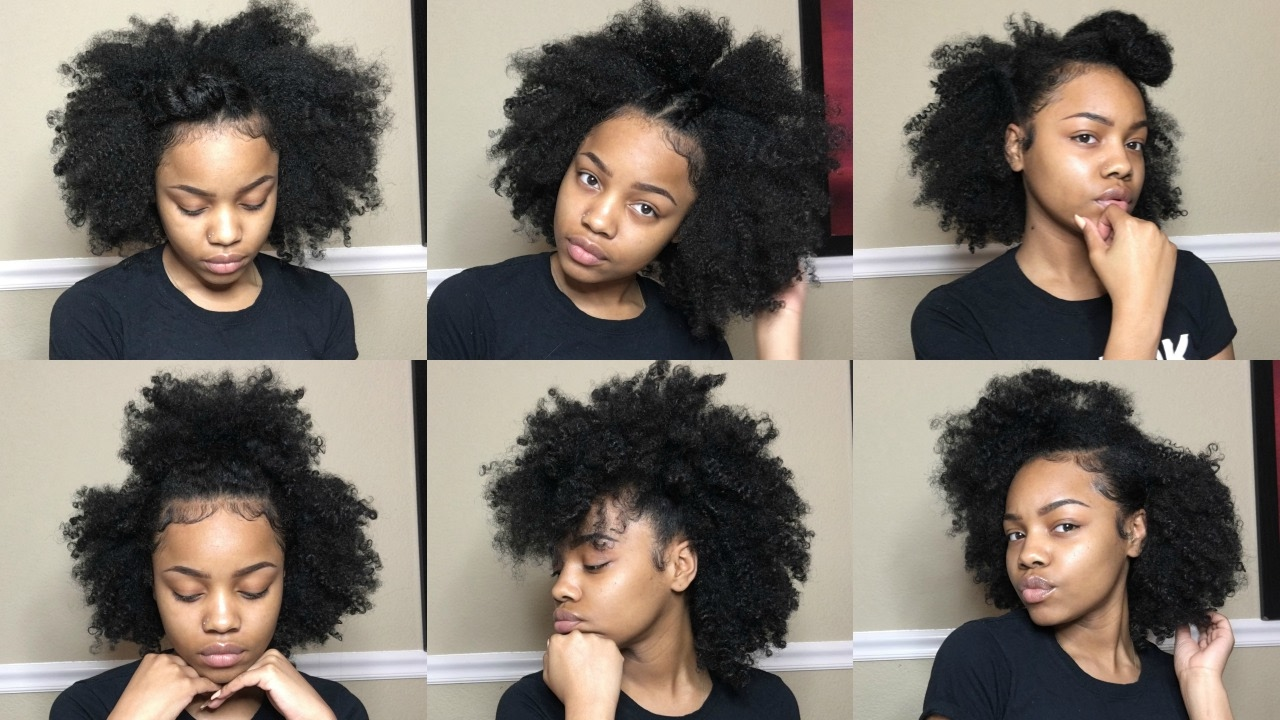 styling an old twist out | natural hair