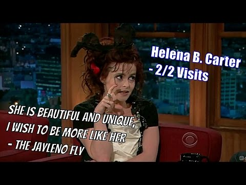 Helena Bonham Carter  She Put The Idea For Geoff In Craig's Mind  22 Visits In Chron. Order