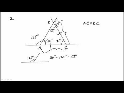 Geometry Problem 2 REVISED GRE MATH REVIEW OFFICIAL GUIDE