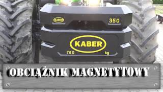 Obciążnik magnetytowy mały - NOWOŚĆ! Kaber