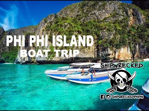 PHI PHI ISLAND - SHIPWRECKED BOAT PARTY - www.shipwreckedphiphi.com
