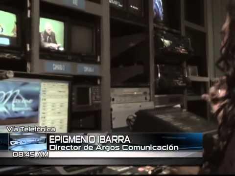 #PorLaMañana Entrevista a Epigmenio Ibarra, director de Argos Comunicación