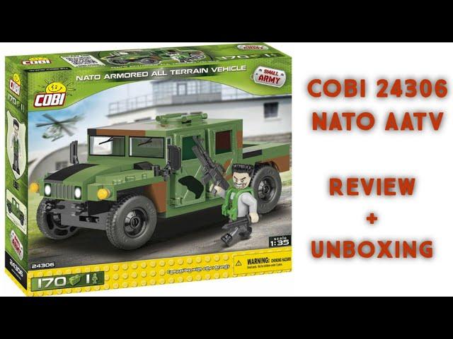 Cobi 24306 - NATO Armored All Terrain Vehicle / Review [German]