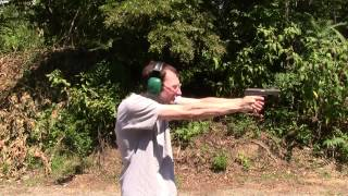shooting the hk sl8 hk usp hk vz70 at 94 mp5 and walther p 38