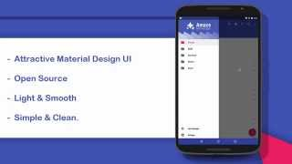 Material Design Android File Manager - Amaze File Manager Official Preview