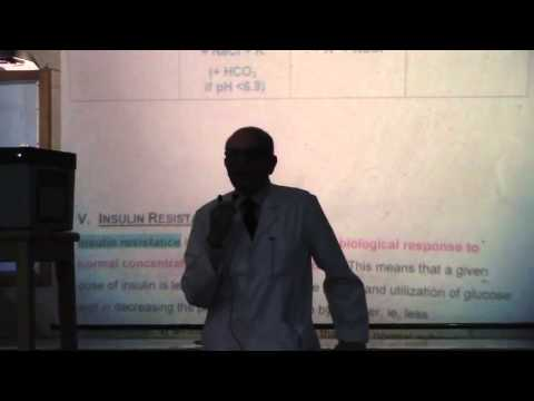 3 Dr  Rasheed 16 02 2015  Types of diabetic coma and Absorption of proteins