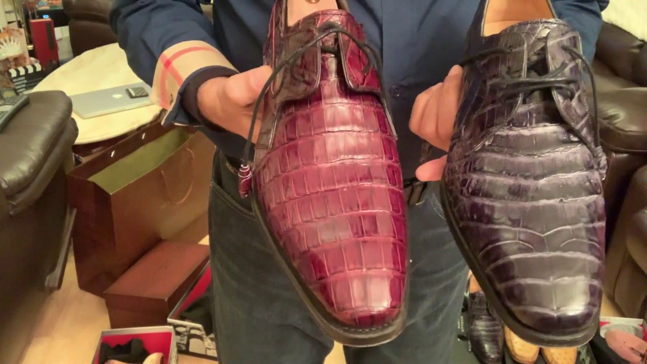 0feff62582 Mezlan Custom handmade Exotic Leather Shoes Review - YouTube