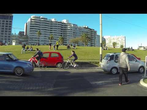 Montevideo Rambla sabado a la tarde!