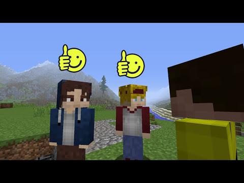 STEVE VS NOOB - A Minecraft Machinima