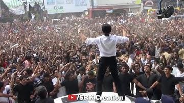 शाहरुख खान का जलवा 🕺फ़ैन की दीवानगी❣️ | Stardom Of Badshah Of Bollywood SRK | SRK Creation |