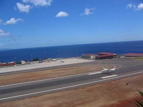 Aerocondor Shorts 360 take-off from Madeira