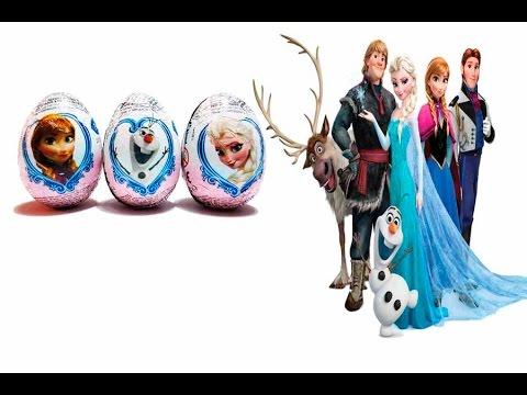 Huevos Español Con De Congelada Una Juguetes En Frozen Aventura La Película Sorpresa OPk08wn