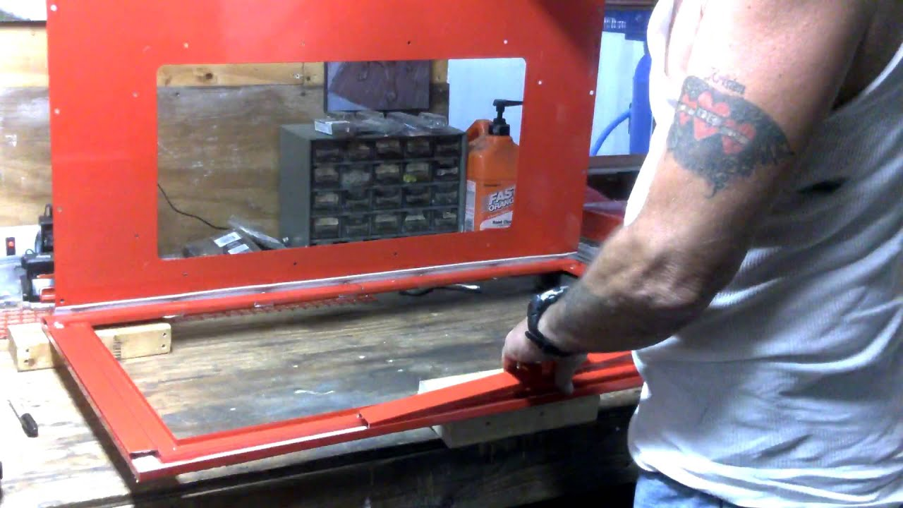 Harbor freight blast cabinet mods P3 - YouTube