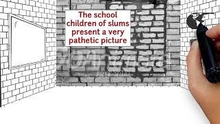An elementary school classroom in a slum animation YouTube