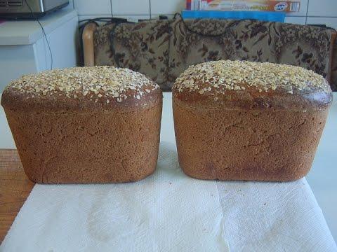 Как испечь черный хлеб в домашних условиях в духовке быстро