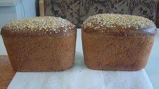Хлеб на ржаной закваске с зёрнами
