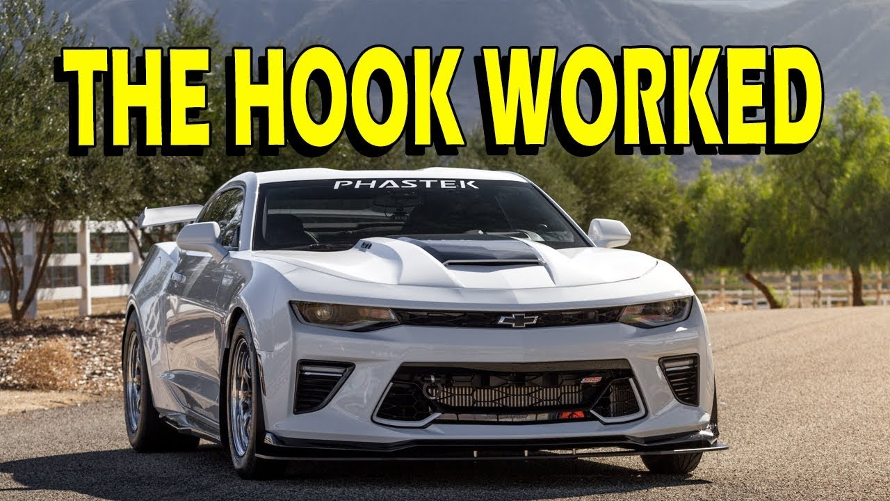 Tow Hook in Action! 16-18 Camaro LS, LT, SS, ZL1 ...